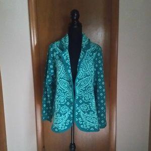 Isaac Mizrahi sweater.